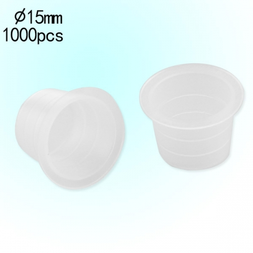 Latest Great Sale Plastic Tattoo Ink Cap Medium Size 1000pcs Packed