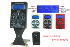 Hurricane Remote Control Tattoo Power Supply