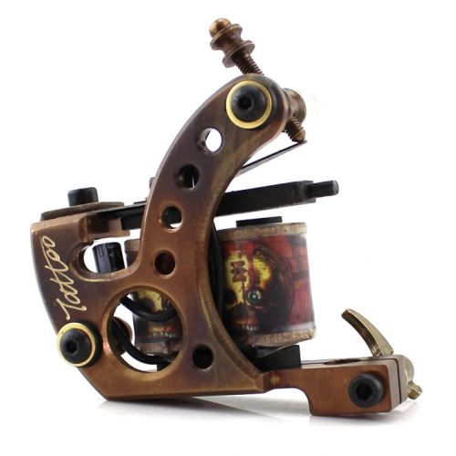 Professional Handmade Tattoo Machine Tattoo Gun For Shader