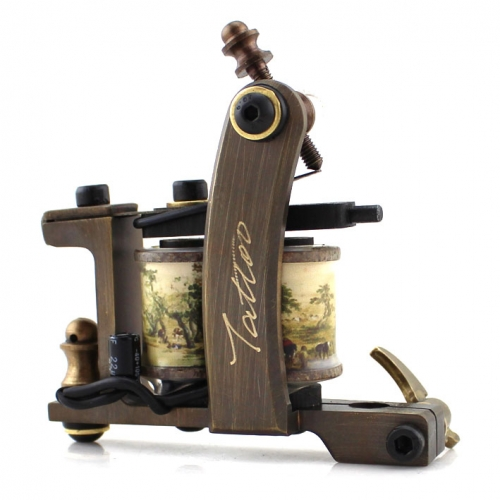 Professional Handmade Tattoo Machine Tattoo Gun For Liner and Shader