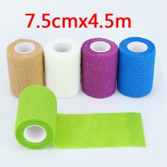 6 pcs/bag 7.5cm*4.5m Elastic Bandage Tape Handle Grip Tube for Tattoo Machine Grip Accessories