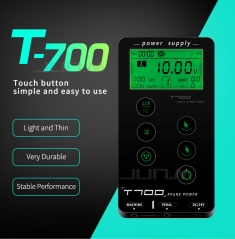 Newest T700 Touch Screen Tattoo Power Supply UPGRADE Intelligent Digital LED Dual Tattoo Power set Supply